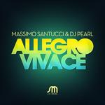 SANTUCCI, Massimo/DJ PEARL - Allegro Vivace (Front Cover)