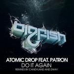 ATOMIC DROP feat PATRON - Do It Again (Front Cover)
