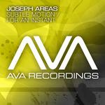 AREAS, Joseph - Subtle Motion (Front Cover)