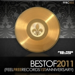 VARIOUS - Feel Free Records 1st Anniversary (Best Of 2011) (Front Cover)
