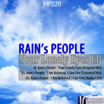 RAIN'S PEOPLE - Your Lonely Eyes EP (Front Cover)
