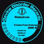 ROBODRUM - It Came From Outerspace (Front Cover)
