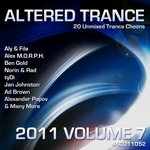 VARIOUS - Altered Trance 2011 Vol 7 (Front Cover)