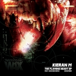 KIERAN M - The Flaming Heart EP (Front Cover)
