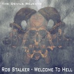 STALKER, Rob - Welcome To Hell (Front Cover)