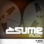 DJ MONXA - Freak EP (Front Cover)