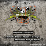 DISPHONIA/N PHECT & DIZPLAY - M Atome Digital 010 (Front Cover)