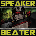 POX - Speaker Beater EP (Front Cover)