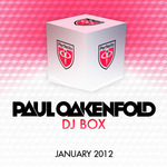 OAKENFOLD, Paul/VARIOUS - DJ Box January 2012 (Front Cover)