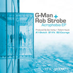 G MAN/ROB STROBE - Acrophobia (Front Cover)