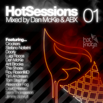 McKIE, Dan/ABX/VARIOUS - HotSessions 01 (mixed By Dan McKie & ABX) (unmixed tracks) (Front Cover)