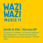 SAVILE & OLIN - Horizon EP (Front Cover)