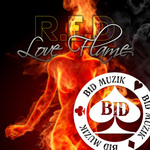 RED - Love Flame (Front Cover)