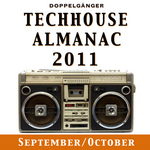 VARIOUS - Techhouse Almanac 2011: Chapter: September/October (Front Cover)