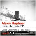 RAPHAEL, Alexis - Under The Radar EP (Back Cover)