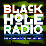 VARIOUS - Black Hole Radio January 2012 (Front Cover)