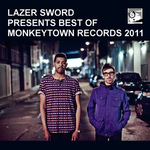 LAZER SWORD/VARIOUS - Lazer Sword Presents Best Of Monkeytown Records 2011 (Front Cover)