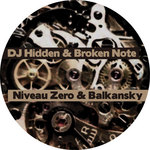 DJ HIDDEN/BROKEN NOTE/NIVEAU ZERO/BALKANSKY - Existence (Back Cover)