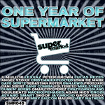 VARIOUS - One Year Of Supermarket (Front Cover)