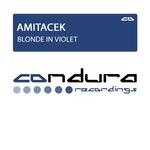 AMITACEK - Blonde In Violet (Front Cover)