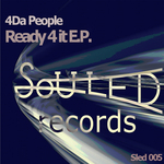 4 DA PEOPLE - Ready 4 It (Front Cover)