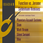 SYDENHAM, Jerome/FUNCTION - White Light remixes (Front Cover)