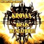 KROVAX - Brain Bustahhh!!! (Front Cover)