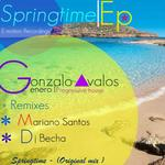 AVALOS, Gonzalo - Springtime EP (Front Cover)