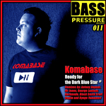 KOMABASE - Ready For The Dark Blue Star EP (Front Cover)