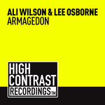 WILSON, Ali/LEE OSBORNE - Armagedon (Front Cover)