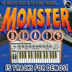 MONSTER BEATS - Rap Hip Hop Pop Beats Royalty: 15 Tracks For Demos Vol 2 (Front Cover)