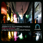 JOZHY K/GLITTERING PUZZLE - Tokyo Nights (Front Cover)