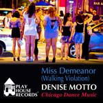 MOTTO, Denise - Miss Demeanor (vocal dance mix) (Front Cover)