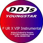 YOUNGSTAR - F UR X Instrumental (Back Cover)