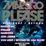 VON UKUF/DJ BEYOND - Maestro  Please (Front Cover)