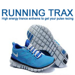 VARIOUS - Running Trax: High Energy Trance Anthems To Get Your Pulse Racing (Front Cover)