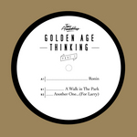 TWO ARMADILLOS - Golden Age Thinking Part 1 (Front Cover)