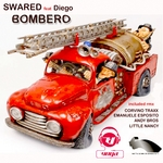 SWARED feat DIEGO - Bombero (Front Cover)