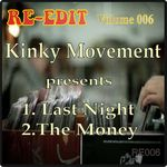 KINKY MOVEMENT - Re Edit Volume 006 (Front Cover)