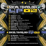 VARIOUS - Social Teknology LP 02 (Front Cover)