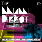VARIOUS - The Miami Digest - Connaisseur's WMC 2012 Sampler (Front Cover)