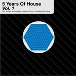 VARIOUS - 5 Years Vol 1 (Front Cover)