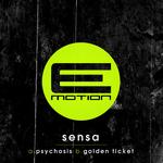 SENSA - Psychosis/Golden Ticket (Front Cover)