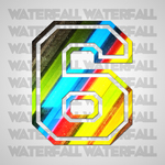 NOVOVIC, Danilo - Waterfall LP (Front Cover)
