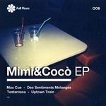 CUE, Max/TESTA ROSSA - Mimì & Cocò EP (Front Cover)