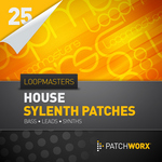 LOOPMASTERS - Patchworx 25: House Synths (Sample Pack Sylenth Presets/MIDI) (Front Cover)
