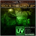 PHANTOM WARRIOR - Sky's The Limit EP (Front Cover)