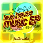 J FADER - True House Music (Front Cover)