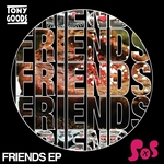 GOODS, Tony - Friends EP (Front Cover)