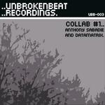 SABADIE, Anthony/DATAMATRIX - Collab #1 EP (Front Cover)